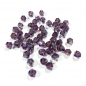 Preview: Bicones 4 mm purple shimmer AB (50 Stk.)